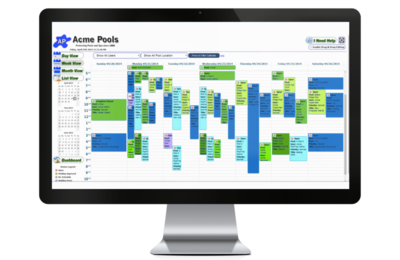 Pooltrac swimming pool service management software for - Swimming pool management software ...